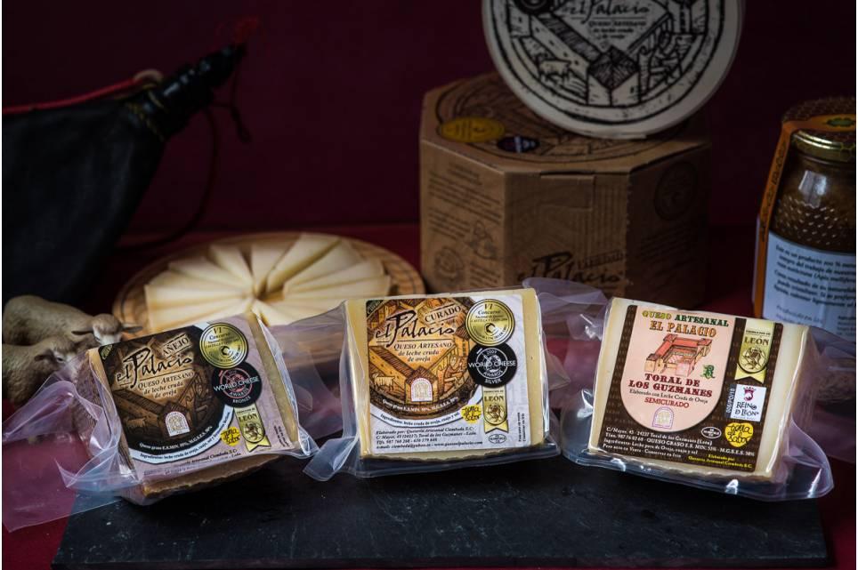 Lote degustación queso pasta prensada