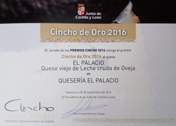 Cincho de oro 2016