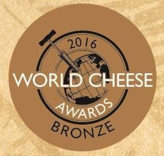 Medalla de bronce World Cheese Awards
