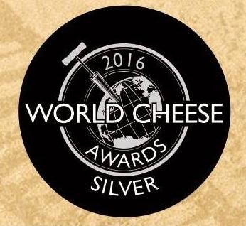 Medalla de plata World cheese awards
